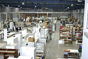 Modern factory premises - Artline Kitchens